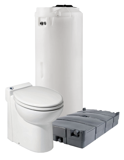 Fresh Water System for Portable Toilets